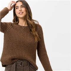 Brax 'Lisa' Chunky Metallic Knitted Jumper