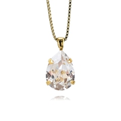 Caroline Svedbom 'Mini Drop' Swarovski Crystal Necklace - Crystal