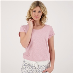 Monari 100% Cotton T-Shirt - Rose