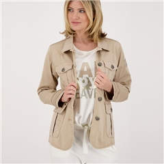 Monari Safari Style Cotton Jacket - Sahara