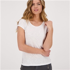 Monari 100% Cotton T-Shirt - White