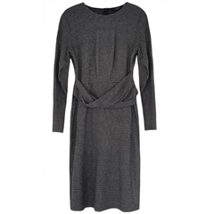 MaxMara Weekend 'Musette' Belt Detail Jersey Dress