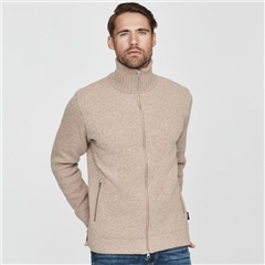 Holebrook 'Måns' Wool Windproof Jacket - Khaki