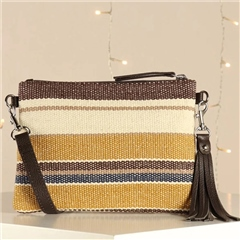Hill & How 'Hetty' Crossbody Bag - Stripe