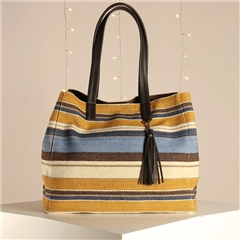 Hill & How 'Olivia' Tote Bag - Stripe