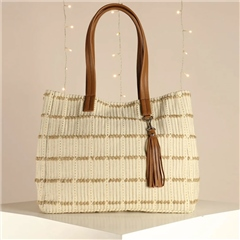 Hill & How 'Olivia' Tote Bag - Natural