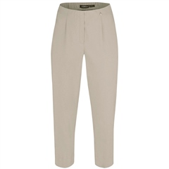 Robell 'Marie' Capri Pull-On Trousers - Beige