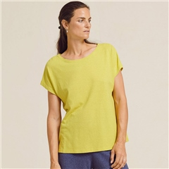 Two Danes 'Hylke' Hemp/Organic Cotton T-Shirt - Celery
