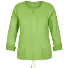 Rabe Zip Up Drawstring Jacket - Kiwi