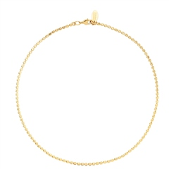 Caroline Svedbom 'Diamond' Gold-Plated Chain Necklace - Gold