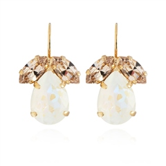 Caroline Svedbom 'Timo' Swarovski Crystal Earrings - Silk/Light Delite