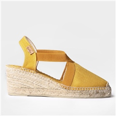 Toni Pons 'Ter' Mid Wedge Espadrilles - Yellow