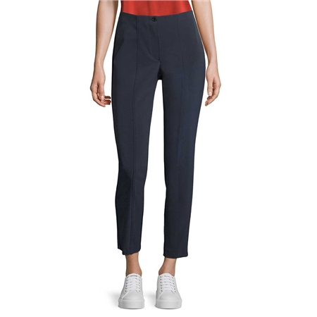 Betty Barclay Straight Leg Classic Trousers - Dark Sky  - Click to view a larger image