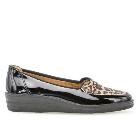 Gabor Animal Print Detail Shoes