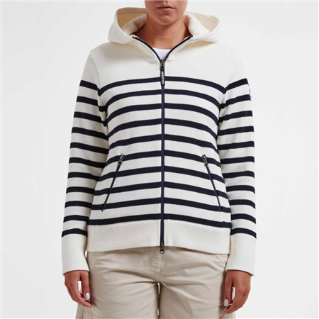 Holebrook 'Anita' Hooded Windproof Jacket - Stripe  - Click to view a larger image
