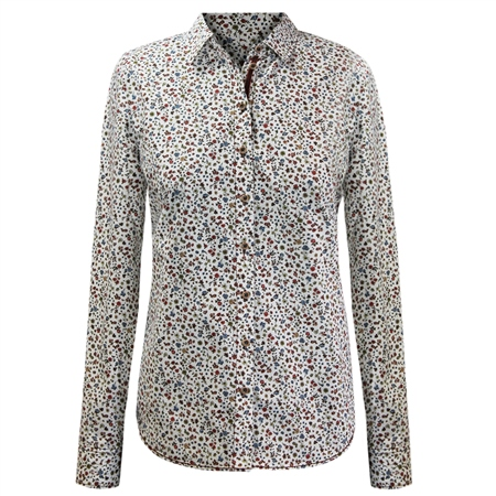 Erfo 100% Cotton Ditsy Floral Blouse