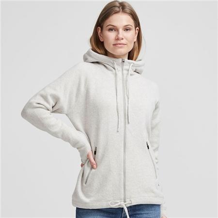 Holebrook 'Martina' Wool Windproof Jacket With Hood - Grey