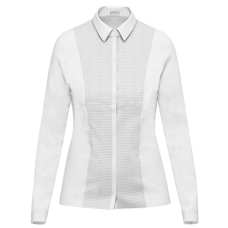 Erfo Pleated Panel Blouse
