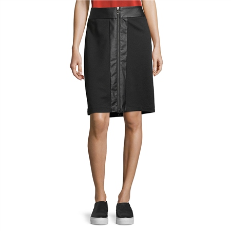 Betty Barclay Zip Through Pencil Skirt  - Click to view a larger image
