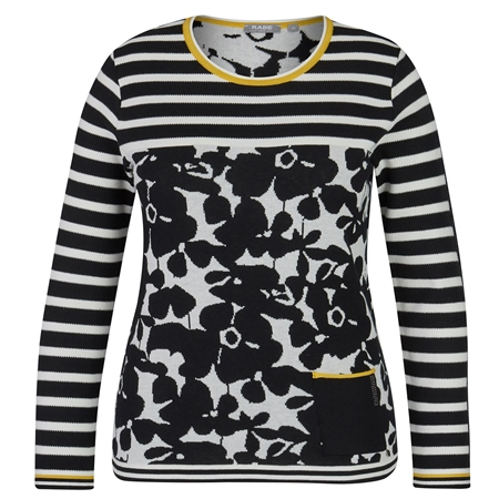 Rabe Floral Stripe Jumper  - Click to view a larger image