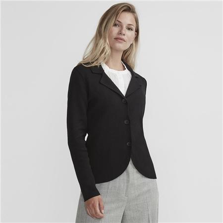 Holebrook 'Pernilla' 100% Cotton Jacket - Black
