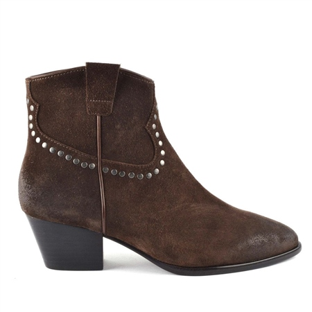 Ash 'Houston Bis' Brushed Ankle Boots 1