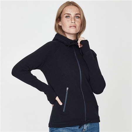 Holebrook 'Martina' Hooded Windproof Jacket - Navy  - Click to view a larger image
