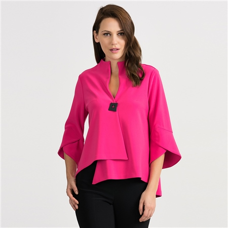 Joseph Ribkoff Fluted Sleeves Jacket 1