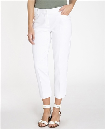 Olsen 'Lisa' Slim Fit Cropped Trousers