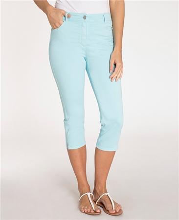 Olsen 'Mona' Slim Fit Cropped Jeans