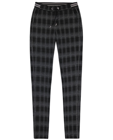 Rabe Pull On Check Trousers