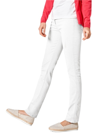 Toni 'Be Loved' Slim Fit Jeans - White