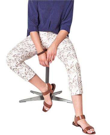Toni 'Jenny Kick' Print 7/8th Trousers