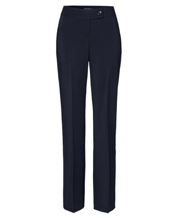 Toni 'Marlene Beauty' Wide Leg Trousers - Dark Blue