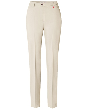 Toni 'Steffi' Regular Fit Trousers - Ecru 1