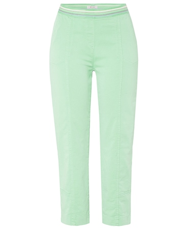 Toni 'Sue' Pull On Cropped Trousers - Mint