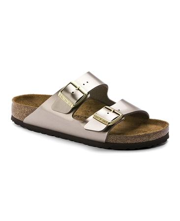Birkenstock 'Arizona'  Muted Metallic Sandals
