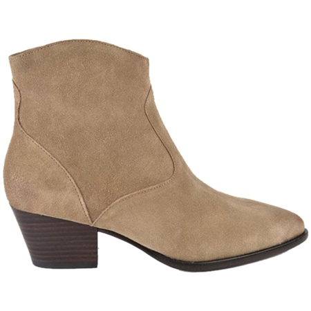 Ash 'Heidi Bis' Zip Up Suede Ankle Boots - Wilde