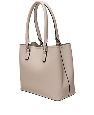 Envy Bags Block Colour Grab Bag - Stone
