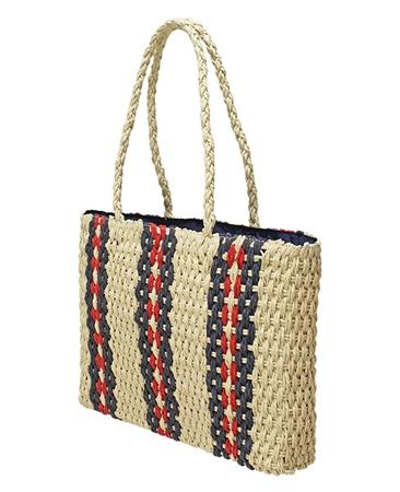 Envy Bags 'Aruba' Twin Strap Chunky Weave Handbag - Natural