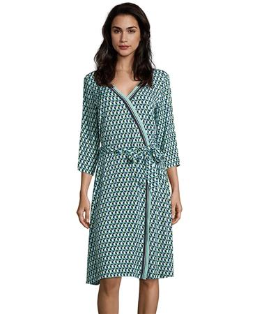 Betty Barclay Geometric Print Wrap Dress