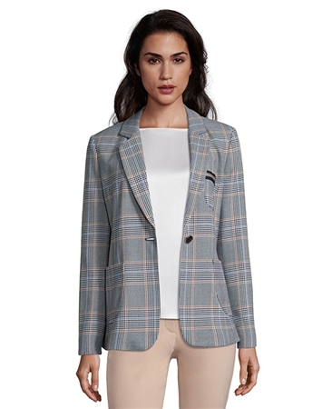 Betty Barclay Check Blazer  - Click to view a larger image
