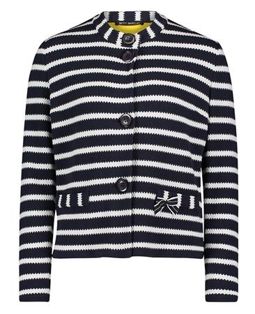 Betty Barclay Striped Knit Jacket