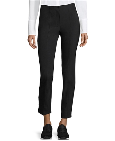 Betty Barclay Slim Fit Cropped Trousers - Black  - Click to view a larger image