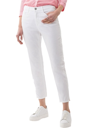 Brax 'Mary S' Five Pocket Ultralight Cotton Slim Fit Cropped Jeans