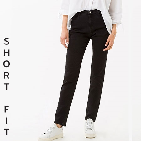 Brax 'Mary' Short Fit Jeans - Clean Black