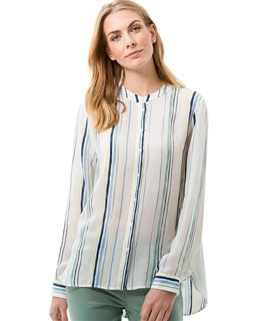 Brax 'Val' Striped Blouse  - Click to view a larger image