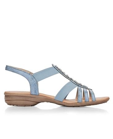 Remonte Embellished Sandals - Royal