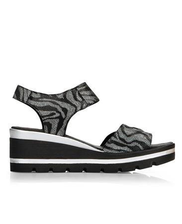 Remonte Zebra Print Sandals