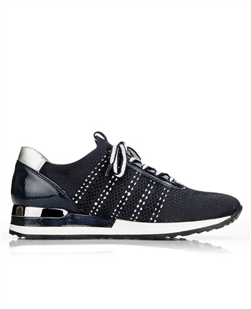 Remonte Lace Up Trainers - Pacific